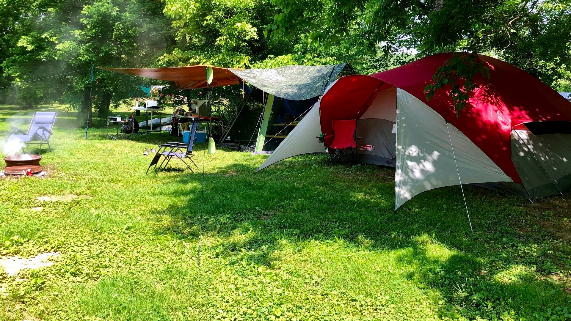 Hocking Hill Camp Sites
